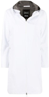 Herno High-Neck Hooded Raincoat