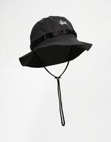 Stussy Boonie Bucket Hat - Black