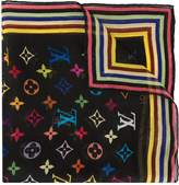 Louis Vuitton silk sheer monogram scarf
