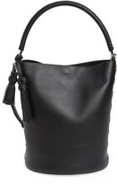Max Mara Bobag Leather Bucket Bag - Black