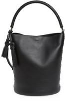 Max Mara Bobag Leather Bucket Bag - Black