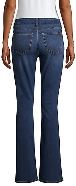 Thumbnail for your product : Jen7 Mid-Rise Slim-Fit Bootcut Jeans
