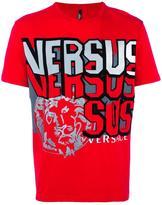 Versus lion print T-shirt - men - Cotton - S