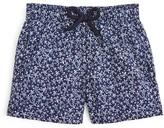 Vilebrequin Boys' Jim Micro Turtle Print Swim Trunks - Sized 2-8