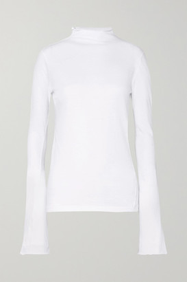 Bassike Organic Cotton-jersey Top - White