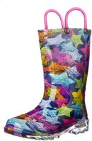 Western Chief Scribble Stars Light up Rain Boot