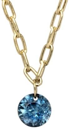 Ila Soleil 14K Yellow Gold & Sapphire Chain Necklace