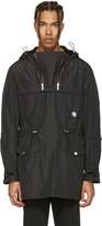 Versace Black Double Zipper Jacket