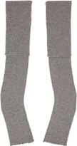 Stella McCartney Grey Long Fingerless Gloves