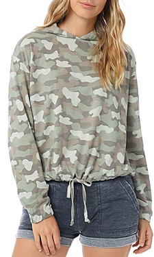 Alternative Printed Drawstring Hooded Sweatshirt