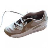 Nike 90 Camel Leather Trainers