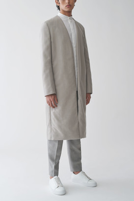 Cos Collarless Midweight Coat
