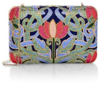 Judith Leiber Couture Seamless Lotus Crystal Clutch