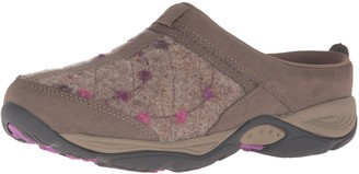 Easy Spirit Women's EZ Time Dark Taupe/Light Brown Suede 12 M US