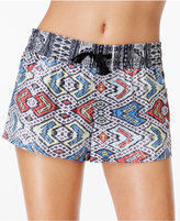 Roxy Poetic Mexic Seabloom Printed Board Short Swim Bottoms