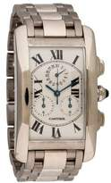 Cartier Tank Americaine Chronoflex Watch