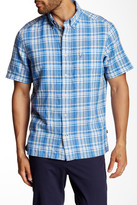Nautica Classic Fit Plaid Button-Down Collar Shirt