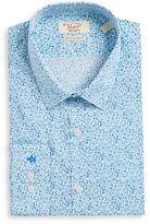 Original Penguin Slim Fit Floral Dress Shirt