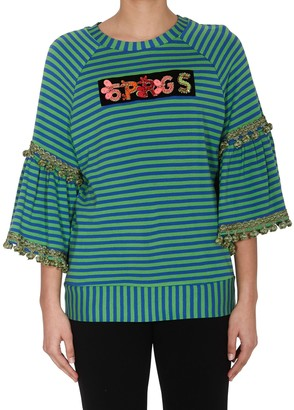 5 PROGRESS Striped T-Shirt