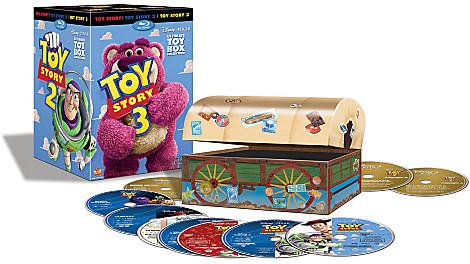 Disney Toy Story Trilogy 10-Disc Box Set