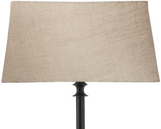OKA 45cm Rectangular Linen Lampshade - Natural