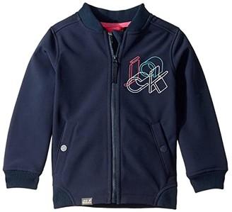 Jack Wolfskin Kids Seals Rocks Jacket (Infant/Toddler/Little Kids/Big Kids) (Midnight Blue) Kid's Coat