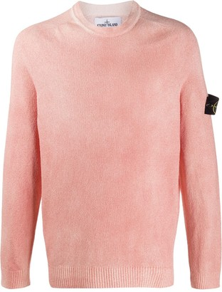 Stone Island Distressed Knitted Jumper
