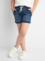 Gap Supersoft denim cargo shorts