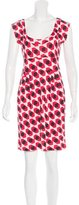 Diane von Furstenberg Sleeveless Printed Dress