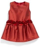 Isabel Garreton Sleeveless Silk Dress (Baby Girls)