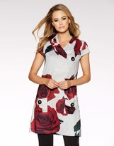 Quiz Rose Print Tunic Dress