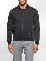 Calvin Klein Textured Lightweight Baseball Jacket