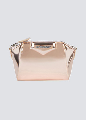 Givenchy Antigona Nano Metallic Satchel Bag