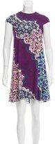 Peter Pilotto Abstract Print Silk Dress