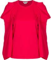 Comme des Garcons embellished sleeve top