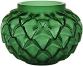 Lalique Languedoc Vase - Green - Small