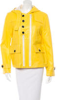 3.1 Phillip Lim Short Hooded Raincoat