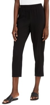 Eileen Fisher System Cropped Straight-Leg Pants, Regular & Petite Sizes