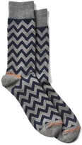 Gap Chevron stripe crew socks