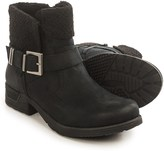 White Mountain Riza Buckle Ankle Boots - Sweater Collar (For Women)