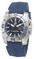 Wrist Armor Men's' Wrist Armor U.S. Marine Corps WC2 Swiss Quartz Tritium Watch - Blue