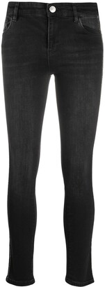 Twin-Set High-Rise Skinny Jeans