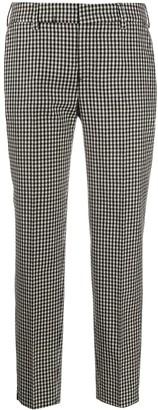 Pt01 Check Print Trousers