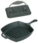 Staub Square Grill Pan and Grill Press