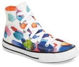 Converse Girl's Chuck Taylor All Star Floral Petals High Top Sneaker