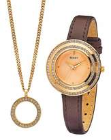 Seksy Ladies Watch & Pendant Gift Set