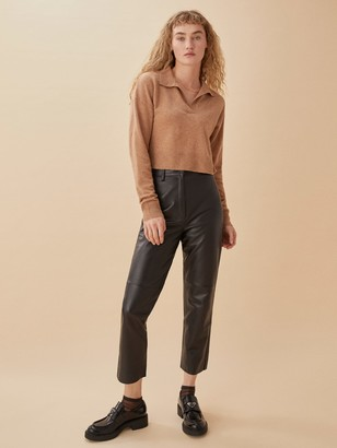 Veda Leather Pant