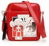 Prada Calfskin Messenger Bag
