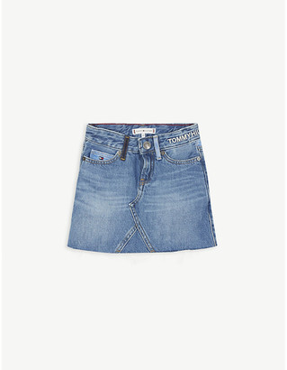 Tommy Hilfiger Recycled denim skirt 4-16 years