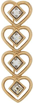 Givenchy Pre-Owned heart-shaped brooch